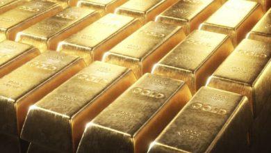 تصویر قیمت جهانی طلا سقوط کرد