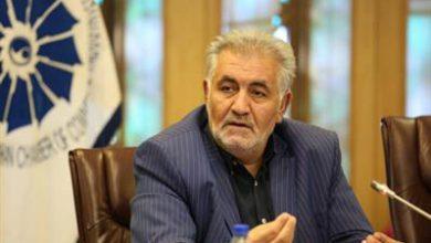 تصویر رئیس خانه صنعت، معدن و تجارت ایران: