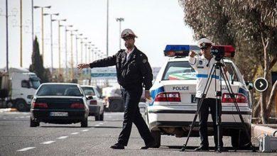 تصویر رئیس پلیس راهور استان اصفهان: