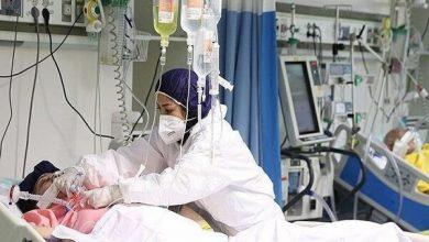 تصویر بستریهای کرونایی در بیمارستانهای آذربایجان شرقی افزایش یافت
