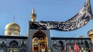 تصویر حضور ۱۴ هزار نفر از عزاداران حسینی در حرم مطهر خواهر امام رضا (ع)