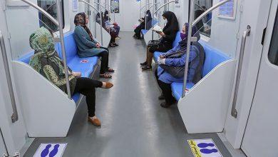 تصویر کرونا مسافران مترو تبریز را کاهش داد