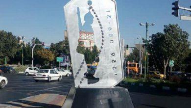 تصویر اِلِمانهای مرتبط با دفاع مقدس در نقاط مختلف تبریز نصب میشود