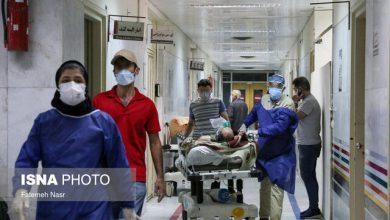 تصویر ۳۹۱ فوتی جدید کرونا در کشور / ۶۷۶۵ تن در شرایط شدید بیماری