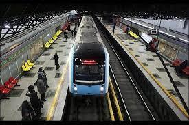 تصویر با تکمیل خط یک متروی تبریز امکان جابجایی ۶۰۰ هزار نفر در روز فراهم می شود