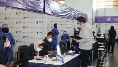 تصویر ۴۰ میلیون ایرانی دوز اول واکسن کرونا را تزریق کردهاند