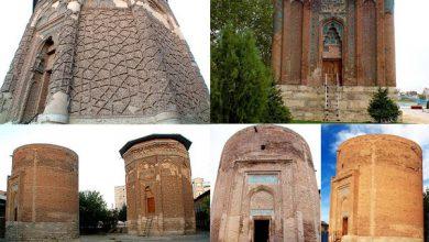 تصویر مراغه شهربرج مقبرههای تاریخی کشور