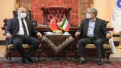 تصویر تجار ایران و ترکیه برای گسترش همکاریهای تجاری برنامه داشته باشند