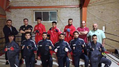 تصویر درخشش ورزشکاران اسکو درمسابقات قهرمانی کیک بوکسینگ آذربایجان شرقی